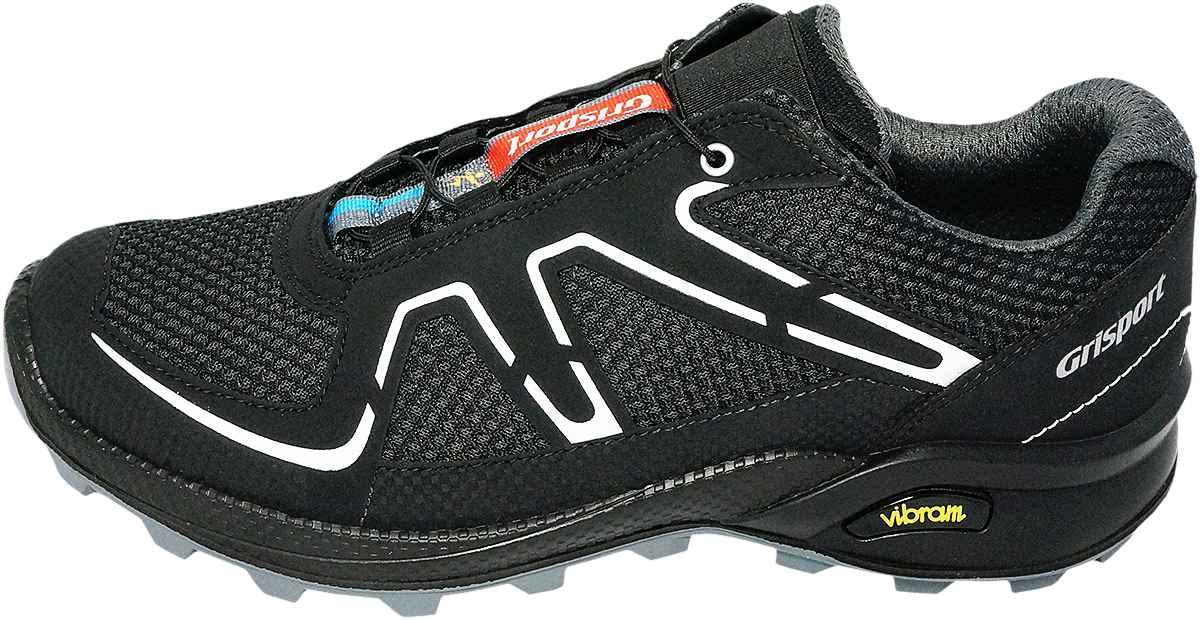 Обувь Grisport 13121A27 черн. кроссовки больших размеров
