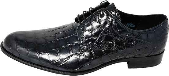 Обувь Conhpol 5133 черн.-син. туфли питон