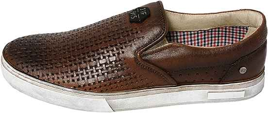 Обувь MooseShoes JF 9|5 Перфо кор. кеды,слипоны лето