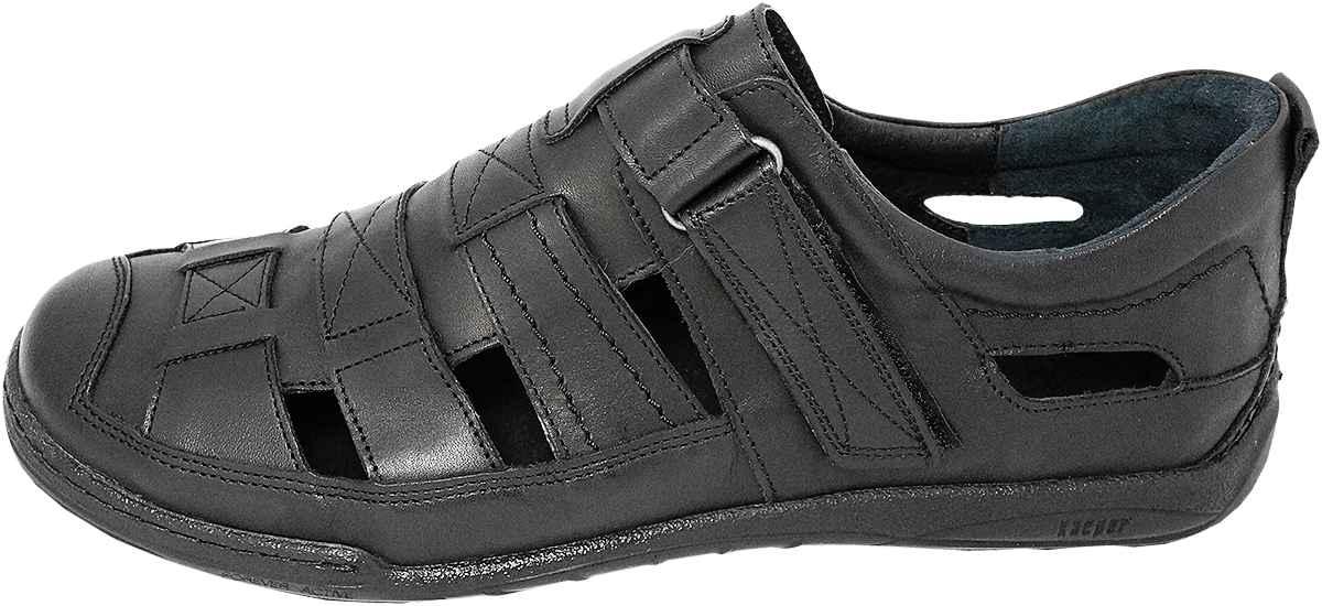 Обувь Kacper 1-4208-253-253-L черн. комфорты,сандалии больших размеров