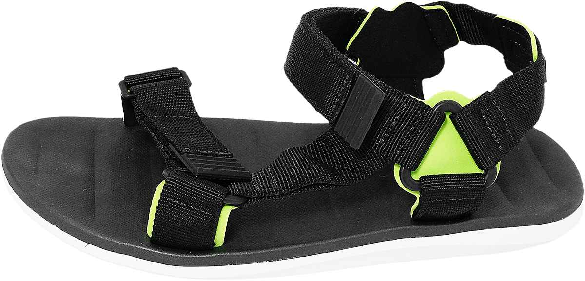 Обувь Rider 82137 22157 черн. зел. сандалии больших размеров