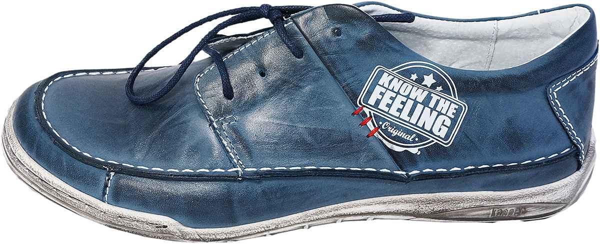 Обувь Kacper 1-4234-210-L син. комфорты больших размеров