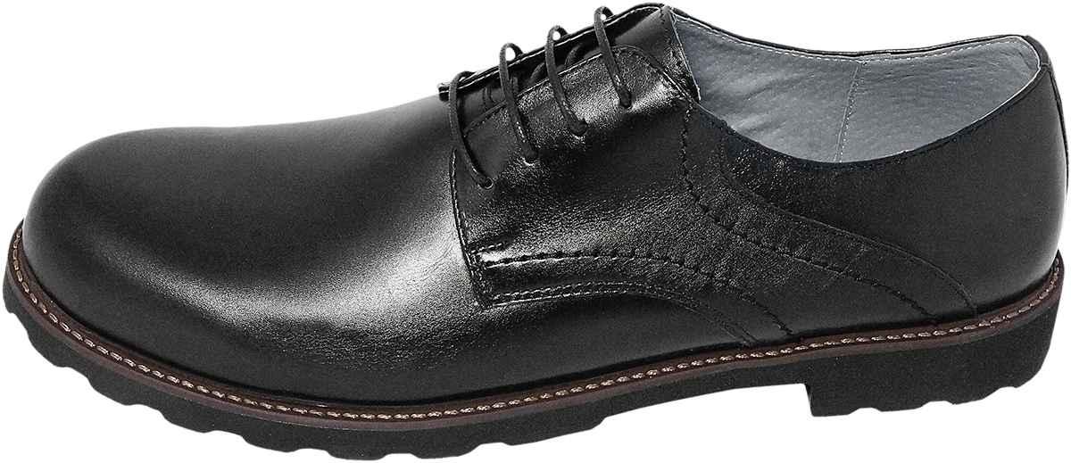 Обувь MooseShoes Moose Max 458 черн. туфли,полуботинки больших размеров