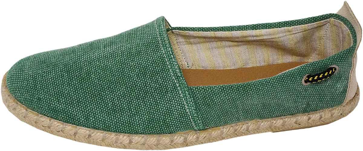 Обувь Dali 271-4-106-25-10 зел. слипоны,эспадрильи