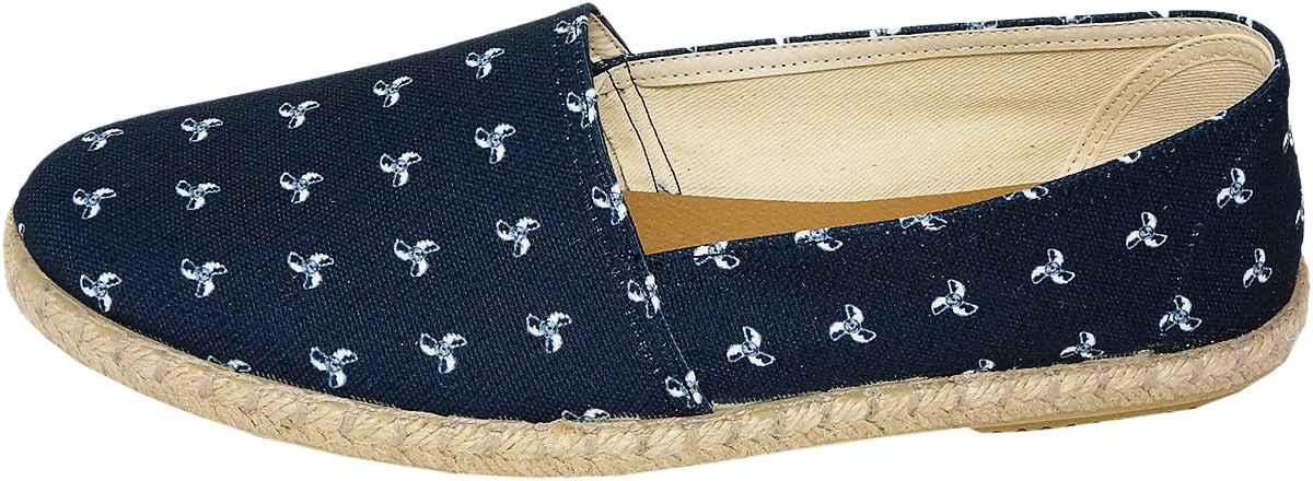 Обувь Dali 271-4-109-16-10 син. слипоны,эспадрильи