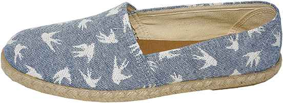Обувь Dali 271-4-108-14-10 син. слипоны,эспадрильи лето