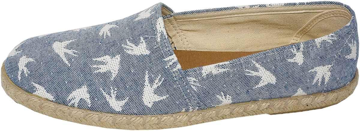 Обувь Dali 271-4-108-14-10 син. слипоны,эспадрильи