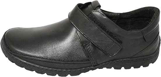 Обувь Kacper 1-0697 черн. комфорты больших размеров