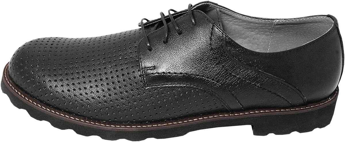 Обувь MooseShoes Moose Max черн. туфли,полуботинки больших размеров
