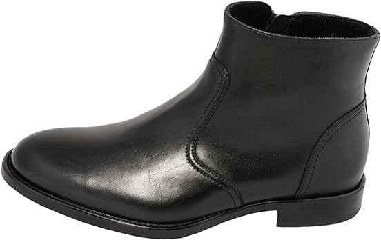Обувь Nord Elite 4974/B999/ОС черн. полусапоги межсезонье, зима