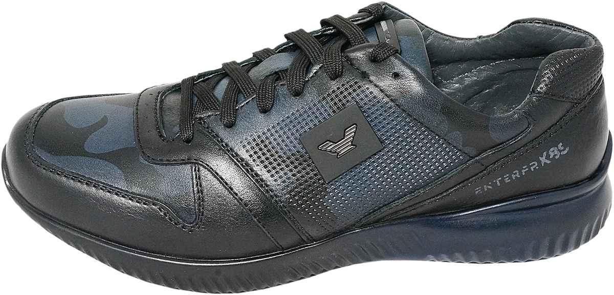 Обувь MooseShoes JF 485 черн. син. кроссовки
