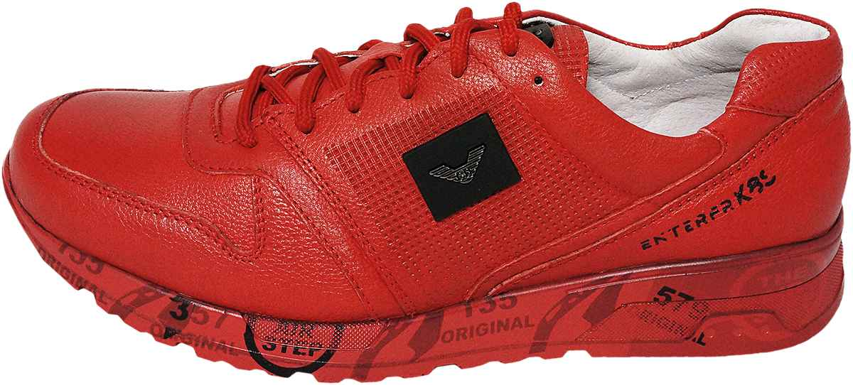 Обувь MooseShoes JF 486 красн. кроссовки
