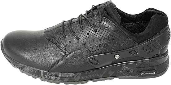 Обувь MooseShoes JF 489 черн. кроссовки межсезонье