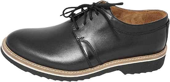 Обувь Badura 7610 черн. туфли межсезонье