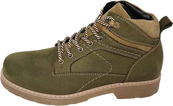 Обувь MooseShoes зел. ботинки межсезонье, зима