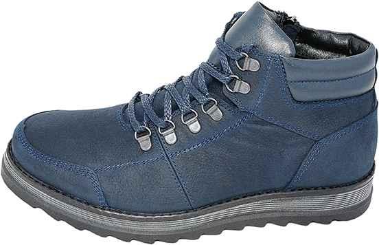 Обувь MooseShoes син. ботинки межсезонье, зима