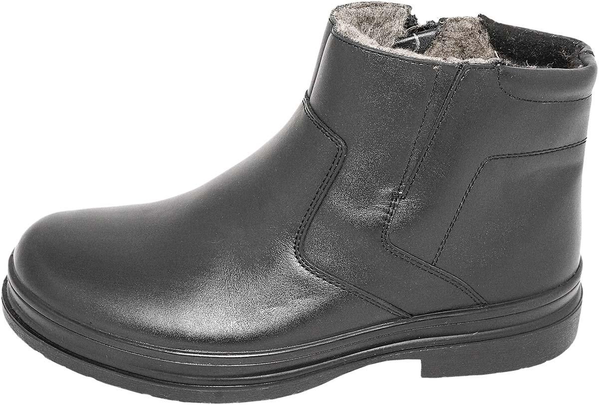 Обувь Marko Marko Comfort 42065 черн. ботинки,полусапоги больших размеров