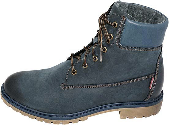 Обувь Badura 4602-1450 син. ботинки зима