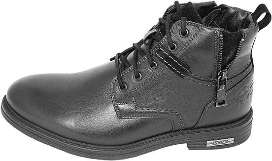 Обувь MooseShoes JF черн. ботинки зима