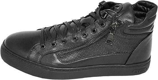 Обувь MooseShoes GFZ1 черн. ботинки,кеды зима