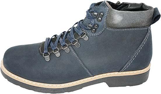 Обувь MooseShoes син. ботинки зима