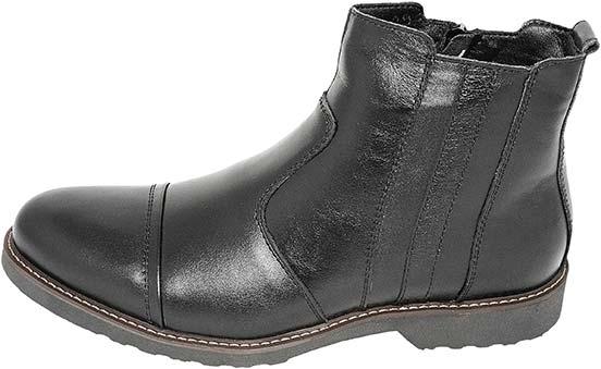 Обувь MooseShoes черн. ботинки,полусапоги зима