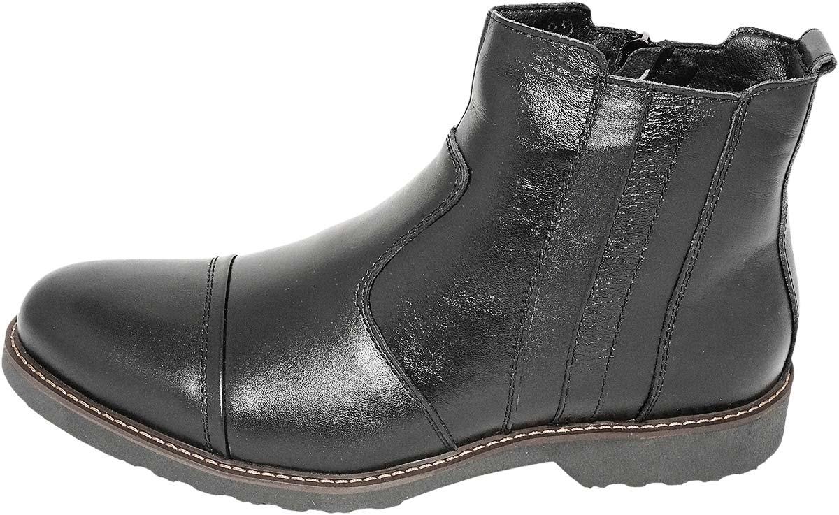 Обувь MooseShoes черн. ботинки,полусапоги