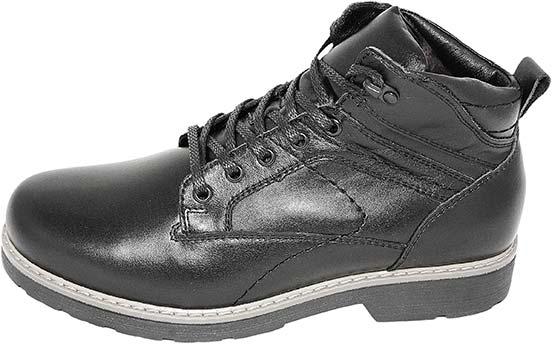 Обувь MooseShoes черн. ботинки зима
